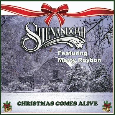 Shenandoah EP- Christmas Comes Alive  featuring Marty Rabon (Vinyl)