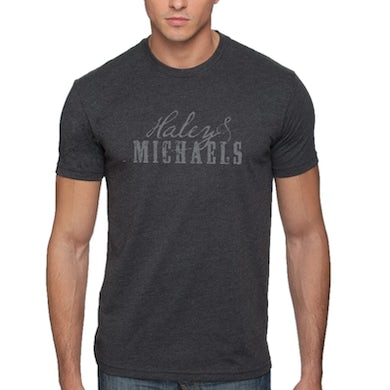 Haley and Michaels Haley & Michaels Unisex Heather Charcoal Tee