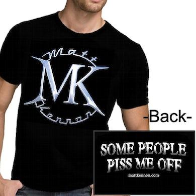 Matt Kennon Some People Logo Black Tee