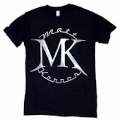 Matt Kennon Black FRONT ONLY Logo Tee