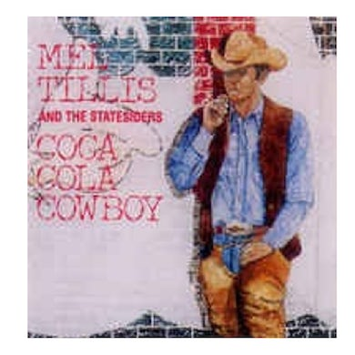 Mel Tillis and the Statesiders CD- Coca Cola Cowboy