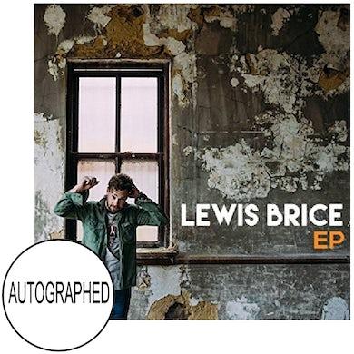 Lewis Brice AUTOGRAPHED EP (Vinyl)