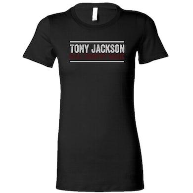 Tony Jackson Ladies Black Tee