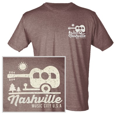 Richards And Southern Nashville Heather Brown Camper Tee