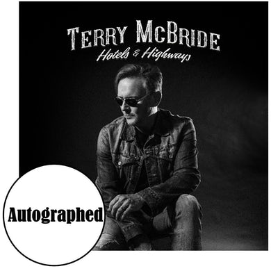 Terry McBride EP- Highways and Hotels-Signed (Vinyl)