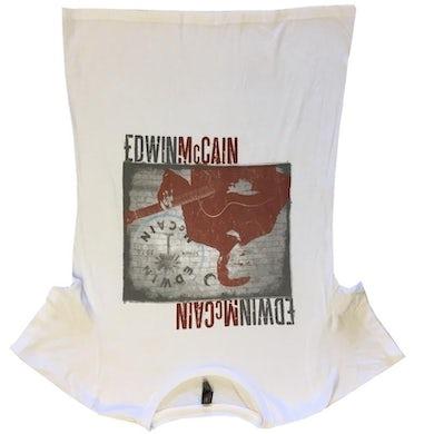Edwin McCain Ladies White Tee