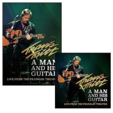 Travis Tritt A Man and His Guitar DVD + 2 Disc CD Bundle
