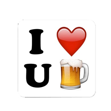 Charles Esten Song Title Sticker- I Love You Beer