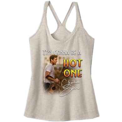 Charles Esten Heather  Natural T-Back Tank