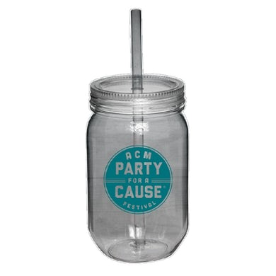 Academy of Country Music ACM Party For A Cause Acrylic Mason Jar