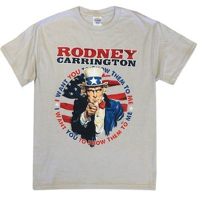 Rodney Carrington Light Grey Show Them To Me Tee