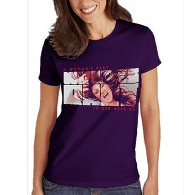 "Ladies Purple ""Rant"" Tee"