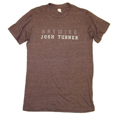 Josh Turner Heather Espresso Haywire Tee