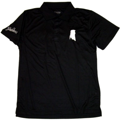 William Lee Golden Black Golf Shirt