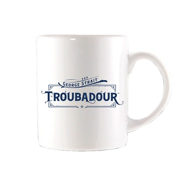 George Strait Troubadour Navy Logo Coffee Mug