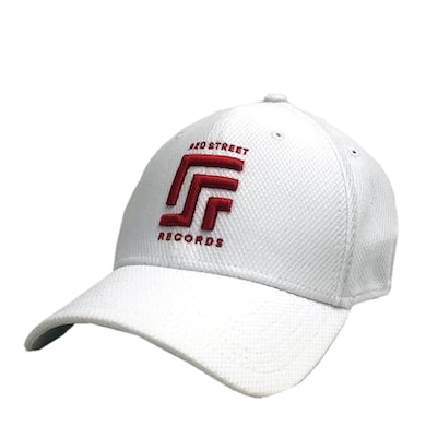 Red Street Records White Fitted Ballcap