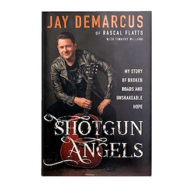 Red Street Records Jay DeMarcus Signed Book- Shotgun Angels