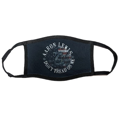 Aaron Lewis Don't Tread On Me Face Mask
