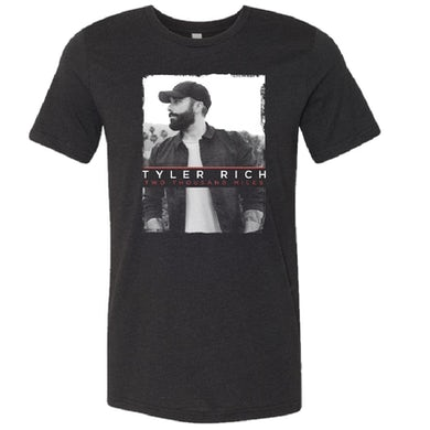 Tyler Rich Two Thousand Miles Black Heather Tee
