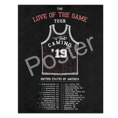 The Band Camino Tour Poster