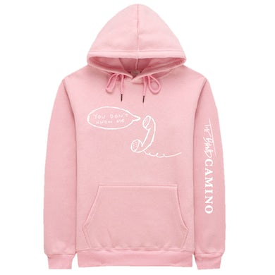 The Band Camino Pink Pullover Hoodie