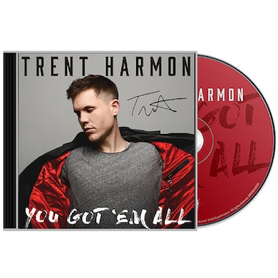 Trent Harmon Signed CD- You Got' Em All