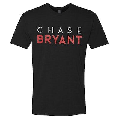 Chase Bryant Black Red Logo Tee