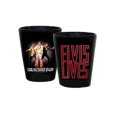 Elvis Lives Shotglass