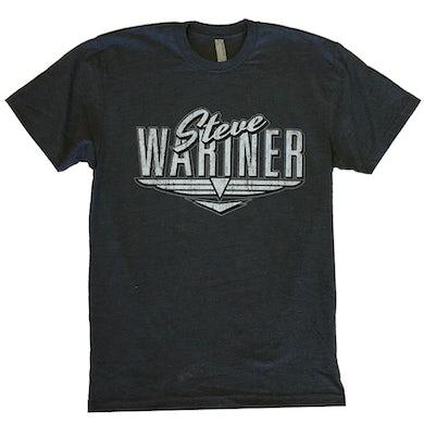 Steve Wariner Heather Charcoal Logo Tee