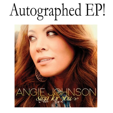 Angie Johnson AUTOGRAPHED EP- Sing For You (Vinyl)