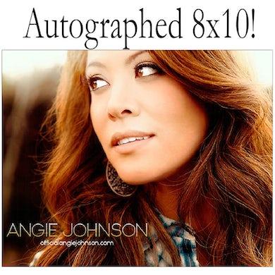 Angie Johnson Autographed 8x10