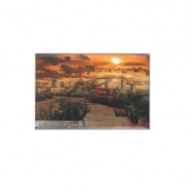 Richards And Southern Nashville Magnet- Sunset