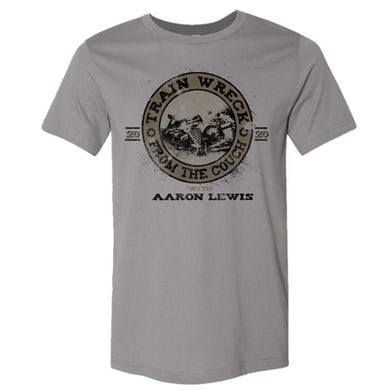 Aaron Lewis Storm Grey Train Wreck Tee