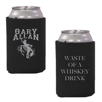 Gary Allan Black Can Coolie- Waste of A Whiskey Drink