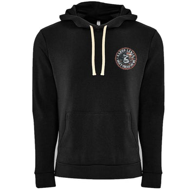 Aaron Lewis Heavyweight Black Zip Up Don't Tread On Me Hoodie