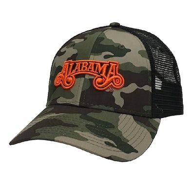Alabama Camo and Black Ballcap
