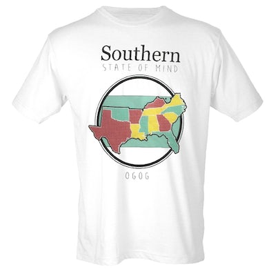 White Southern State of Mind Tee