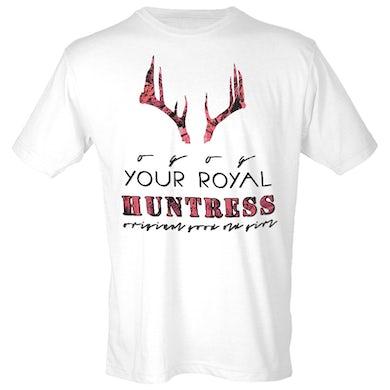 JJ Lawhorn White Royal Huntress Tee