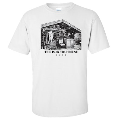 White This Is My Trap House Tee