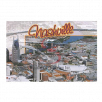 Richards And Southern Nashville Postcard Pack- Aerial Day