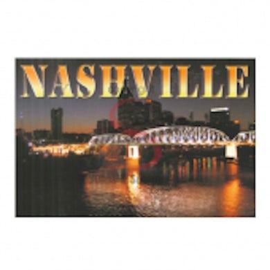 Richards And Southern Nashville Postcard Pack- Night Pedestrian Bridge