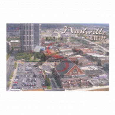 Richards And Southern Nashville Postcard Pack- Aerial Ryman