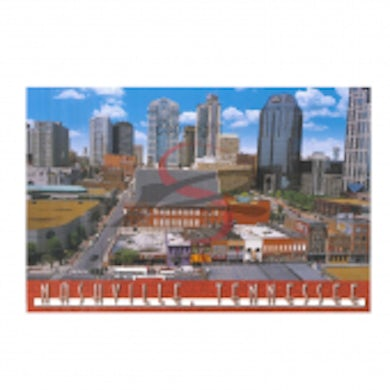 Richards And Southern Nashville Postcard Pack- Aerial Ryman with Skyline