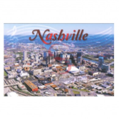 Richards And Southern Nashville Postcard Pack- Aerial Day Gulch