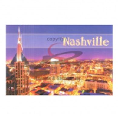 Richards And Southern Nashville Postcard Pack- Night SoBro District