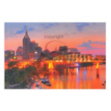 Richards And Southern Nashville Postcard Pack- Night Riverfront Celebration