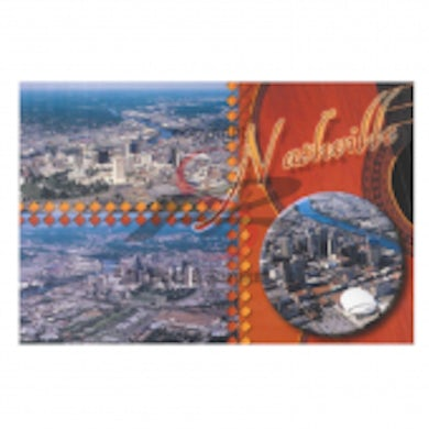 Richards And Southern Nashville Postcard Pack- Collage