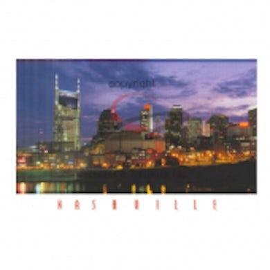 Richards And Southern Nashville Postcard Pack- Night Skyline
