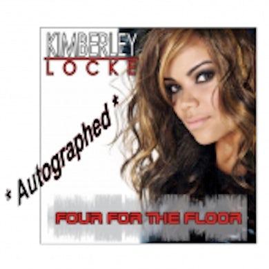 Kimberley Locke - Autographed - EP- Four For The Floor (Vinyl)