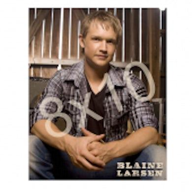 Blaine Larsen 8x10- Plaid Shirt